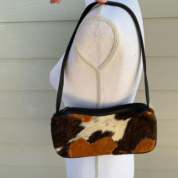Roberto Vascon Handbags - Rare Roberto Vascon Cowhide Leather Purse Handbag